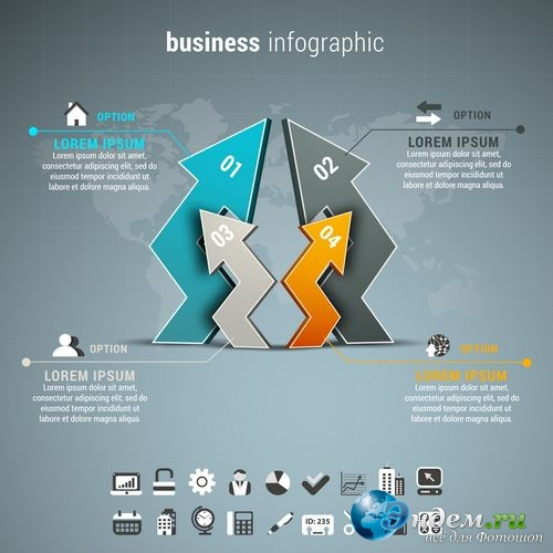 Business Infographics Element Collection