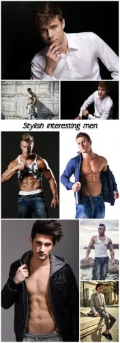 Stylish interesting men