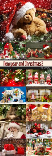 New year and Christmas 2