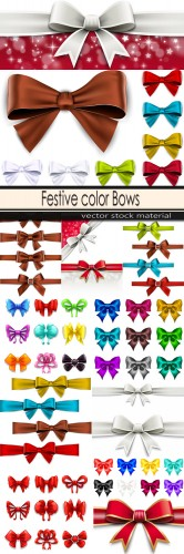 Festive color Bows
