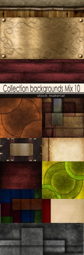 Collection backgrounds Mix 10