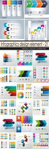 Infographics design element - 21