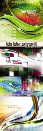 Vector Abstract backgrounds 15