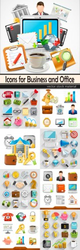 Icons for Business and Office