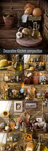 Decorative Kitchen composition