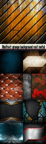 Abstract grunge background rust metal