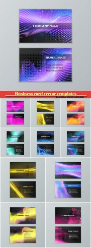 Business card vector templates # 26