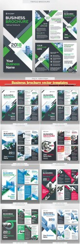 Business brochure vector templates, magazine cover, business mockup, education, presentation, report # 58