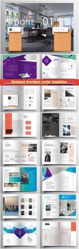 Business brochure vector templates, magazine cover, business mockup, education, presentation, report # 63