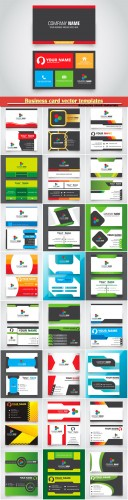 Business card vector templates # 31