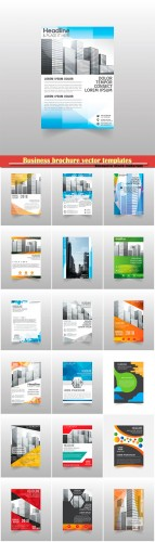 Business brochure vector templates, magazine cover, business mockup, education, presentation, report # 65