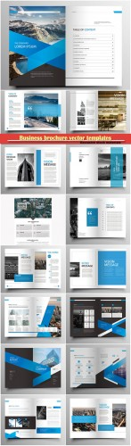 Business brochure vector templates, magazine cover, business mockup, education, presentation, report # 69