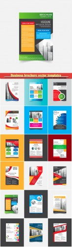 Business brochure vector templates, magazine cover, business mockup, education, presentation, report # 73