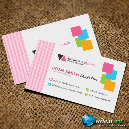 Extra - business card templates